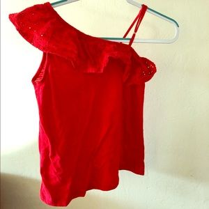 Kids Size 14 Red Tank Top